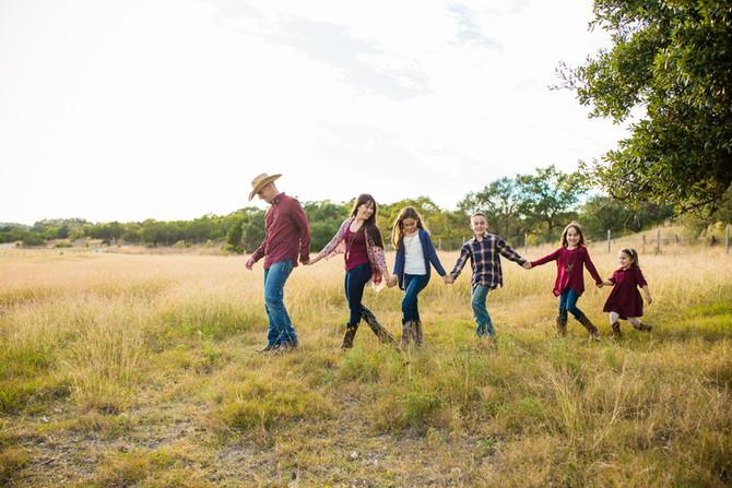 Harrison Family| San Antonio Family Photographer