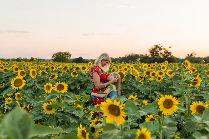 Sunflower Mini Sessions| San Antonio Family Photographer