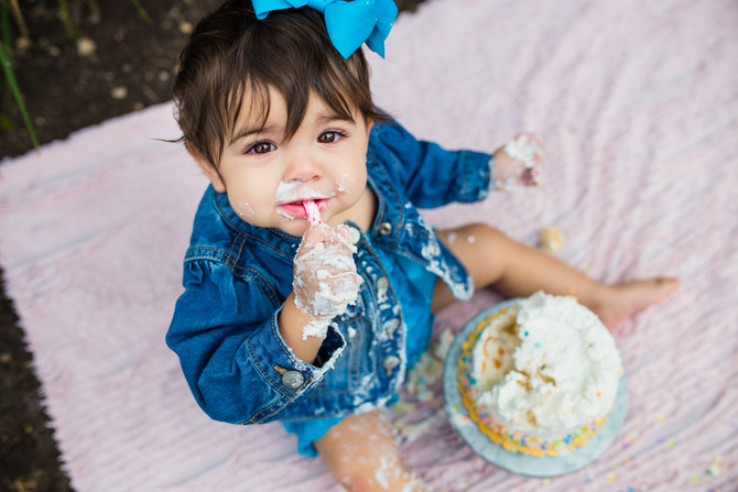 Ellie's 1 Year Session| San Antonio Children's Photographer