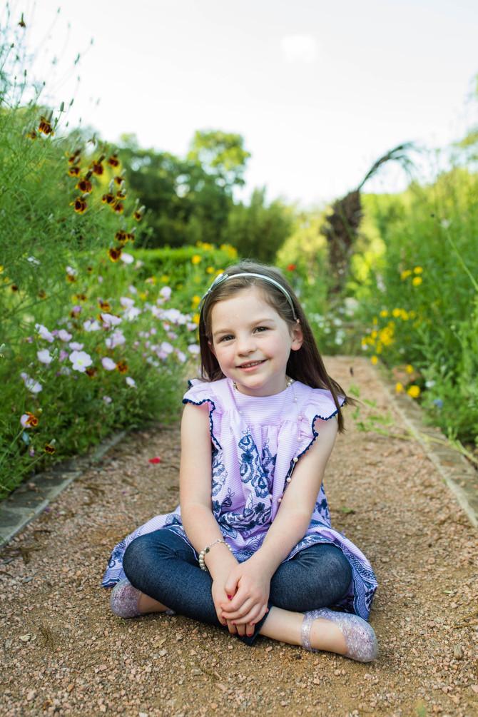 Katelyn 6 Year| San Antonio Childrens Photographer