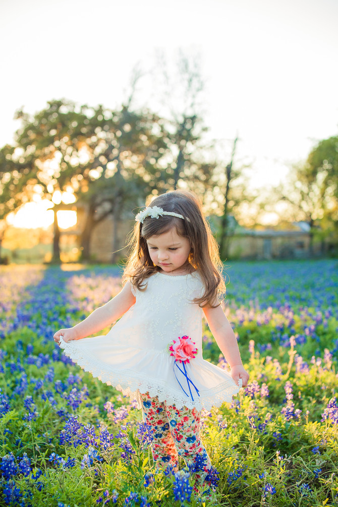 Bluebonnet & Poppy Mini Sessions