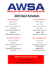 AWSA 2020 Schedule!! Check it out!!