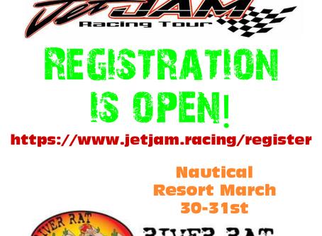 Hydro-Turf Jet Jam registration is now open!!!