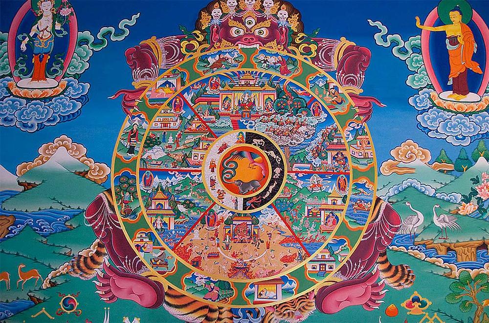 """""""het wiel van Samsara"""""""
