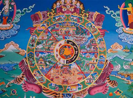 Jezelf vinden, hoe dan?? Over het wiel van Samsara en praktische oefeningen om dichter bij jezelf te