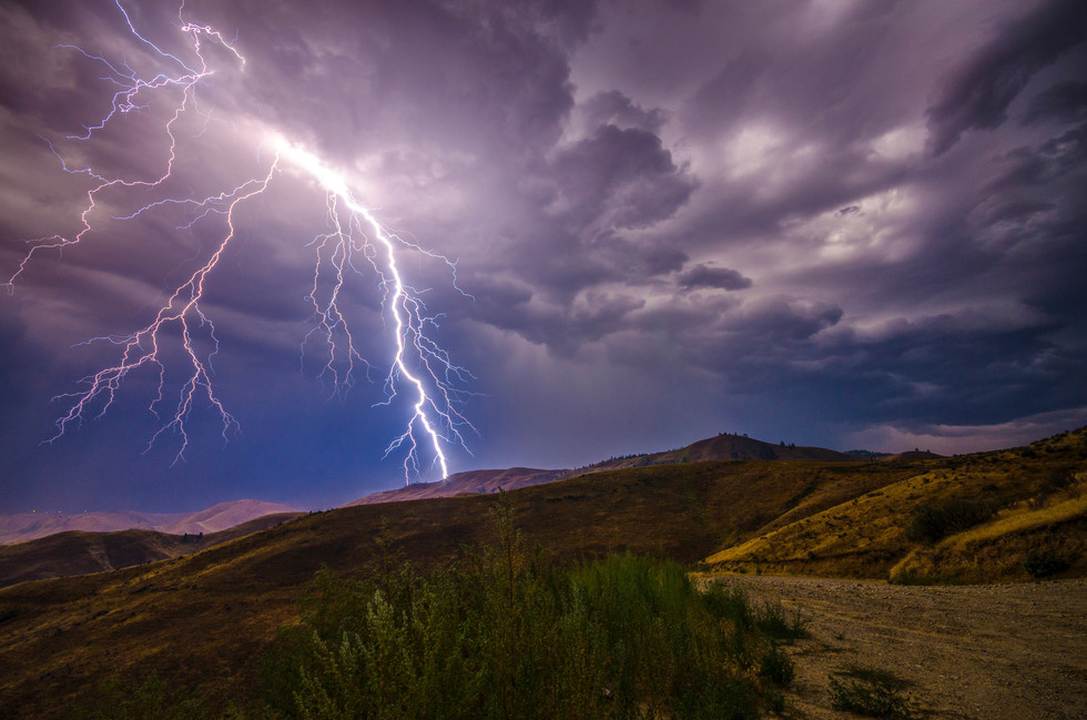 Less than 6% of bushfires are caused by lightning