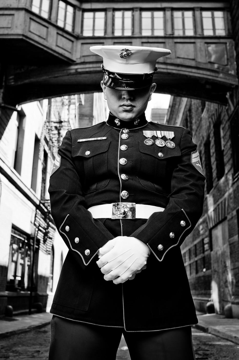 Staple St 09 - Michael C - War Veteran -