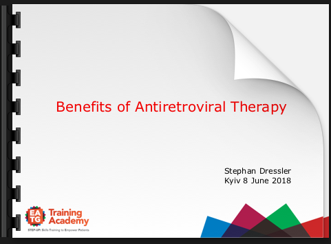 Benefits of Antiretroviral Therapy