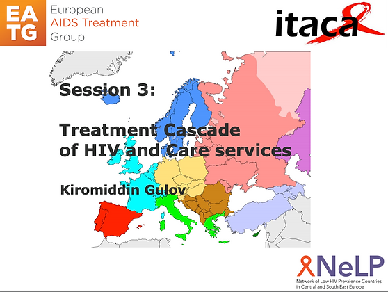 ITACA-Session 3 Treatment Cascade of HIV and Care services