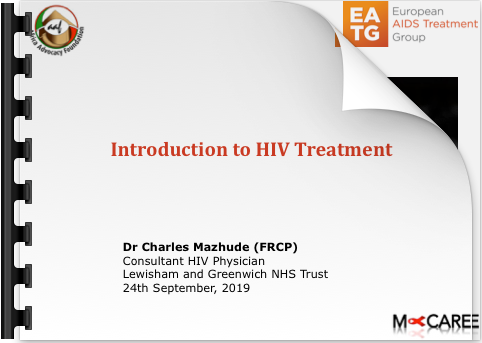 Charles Mazhude Introduction to HIV Treatment