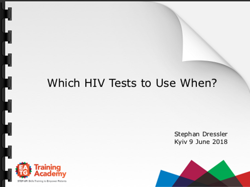 HIV Tests and their use