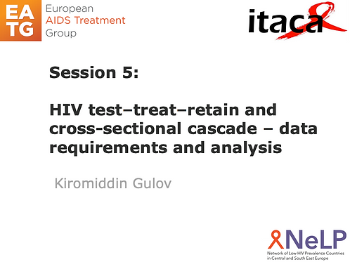 ITACA-Session 6 HIV Modelling