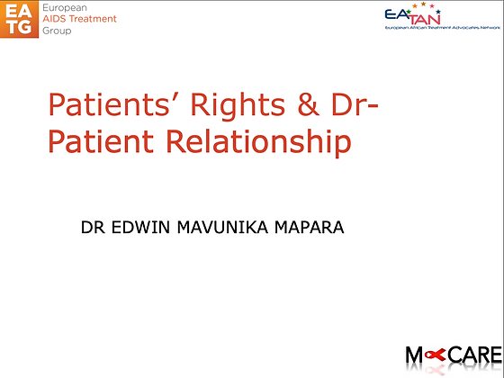 M-Care 2016-Patients' Rights & DrPatient Relationship