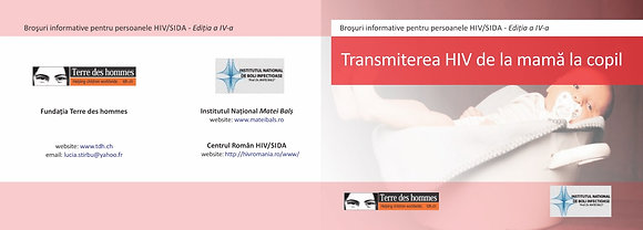 HIV / AIDS INFO Mother to child transmission – Romanian