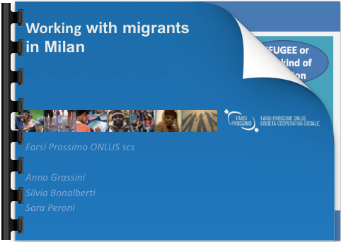 Working with migrants in Milan