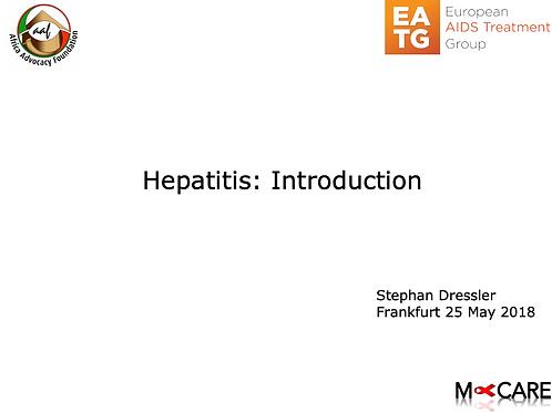 Stephan Dressler - Introduction to Hepatitis
