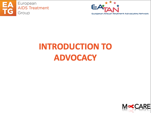 M-Care 2016-INTRODUCTION TO ADVOCACY