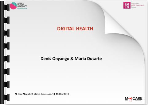 Denis Onyango Digital Health
