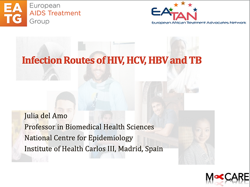 M-Care 2016-Infection Routes of HIV, HCV, HBV and TB