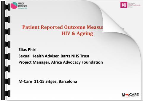 Elias Phiri Patient Reported Outcome Measures (PROMs)