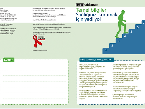 Seven ways on how to look after your health - Turkish