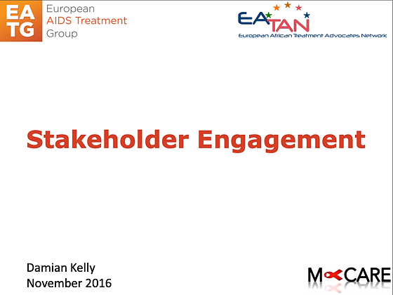 M-Care 2016-Stakeholder Mapping