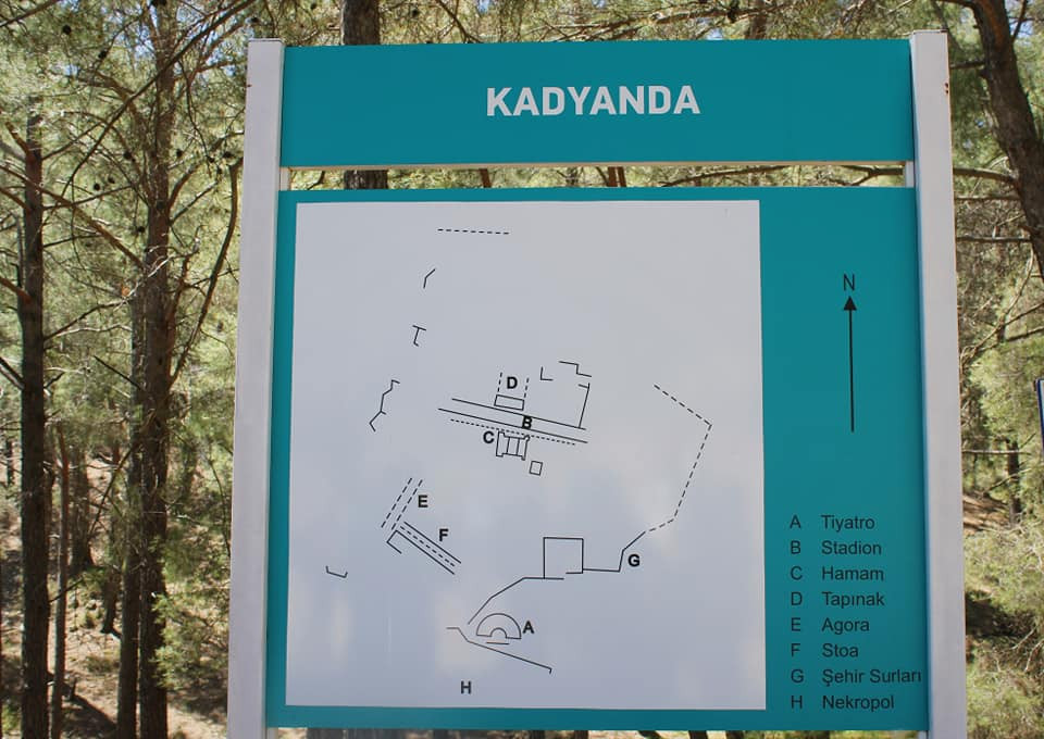 Komşu medeniyet #Likya şehri #Kadyanda !