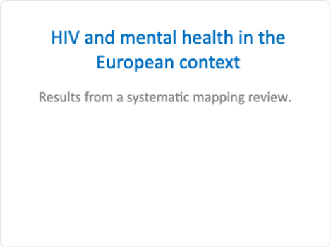 HIV and mental health in European context
