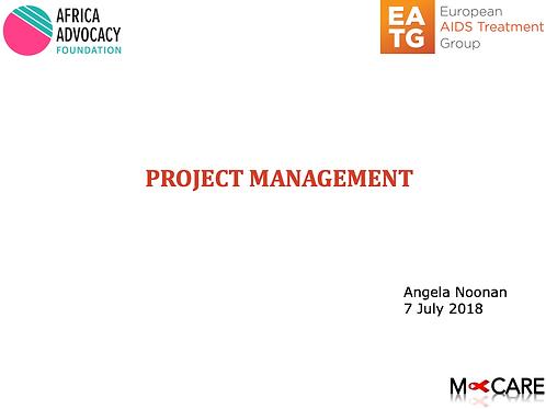Angela Noonan - Project Management