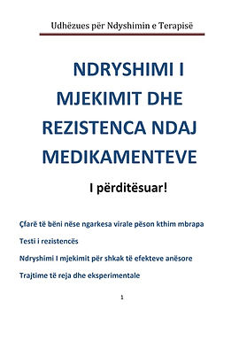 Changing treatment and drug resistance - Albanian