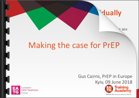 Making the case for PrEP