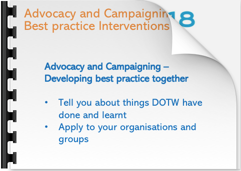 Anna Miller Advocacy and Campaigning Best practice Interventions