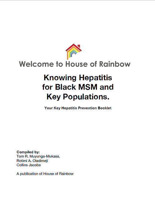 Knowing Hepatitis for Black MSM and Key Population