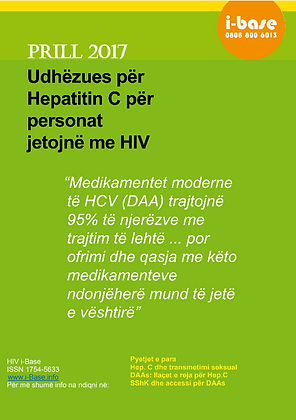 Guide to hepatitis C for people living with HIV - Albanian