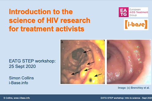 Introduction to the science of HIV research for treatment activists
