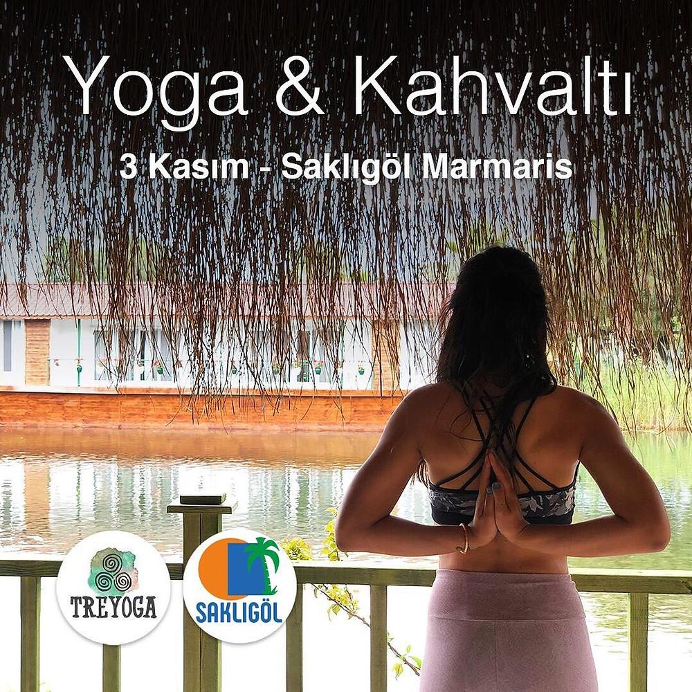 3 Kasım Pazar günü önce birlikte pratik sonra birlikte kahvaltı & sohbet🤗 10:00-11:15 Yoga 11:30 Kahvaltı Yer: Saklıgöl Marmaris