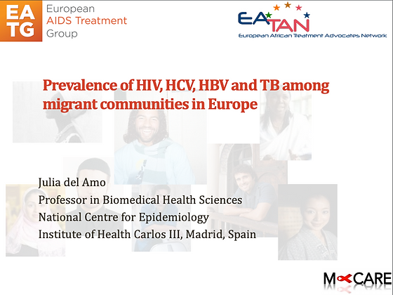 M-Care 2016-Prevalence of HIV, HCV, HBV and TB among migrant communities in ...