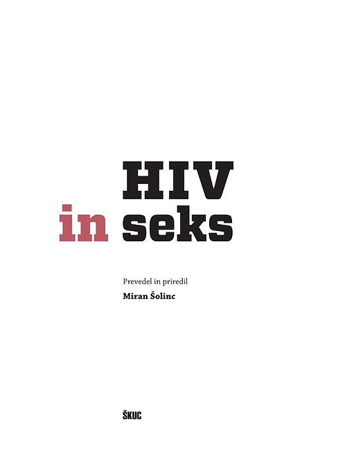 HIV & Sex, 2011 4th edition - Slovenian