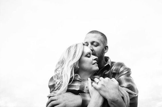 Overjoyed to be photographing these two'