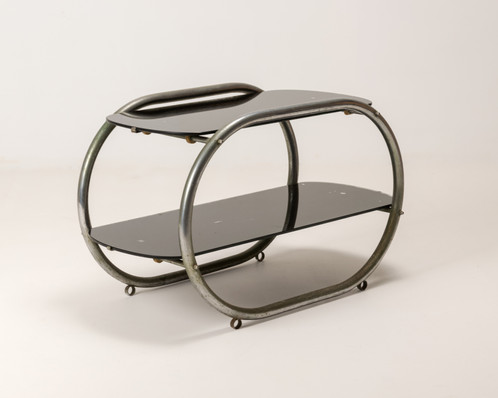 Art Deco Era Side Table Two Tier In Streamline Moderne Style | Furniture  Store Sydney | Australia | Wood Junk Soda