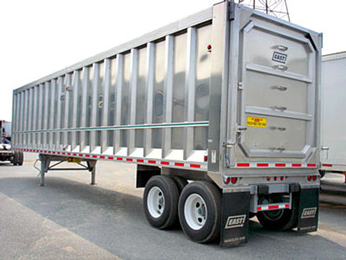 Transfer Station Trucking Trailer