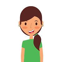 cartoon-young-girl-icon-vector-12133349_