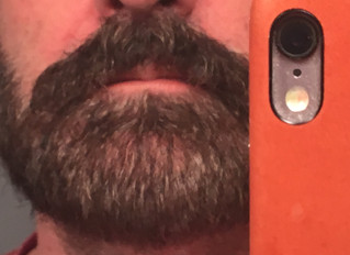 How Editing Is Like Dyeing Your Beard - a (mostly) pictorial essay