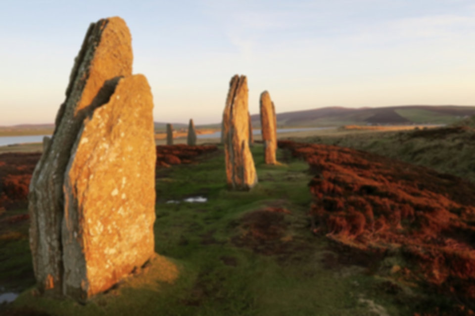 Callanish Stones,  Lewis, Scotland