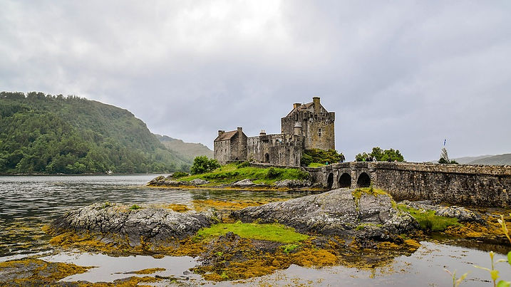 Eilean Castle, Scotland