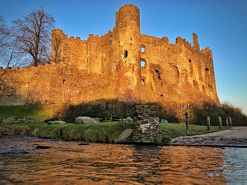 Welsh Castle Ruins