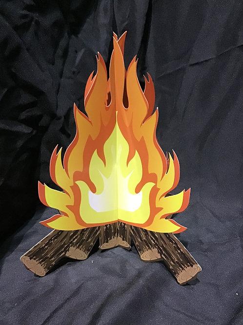 Laminated campfire