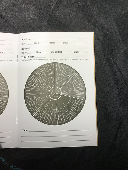 Tasting notes book