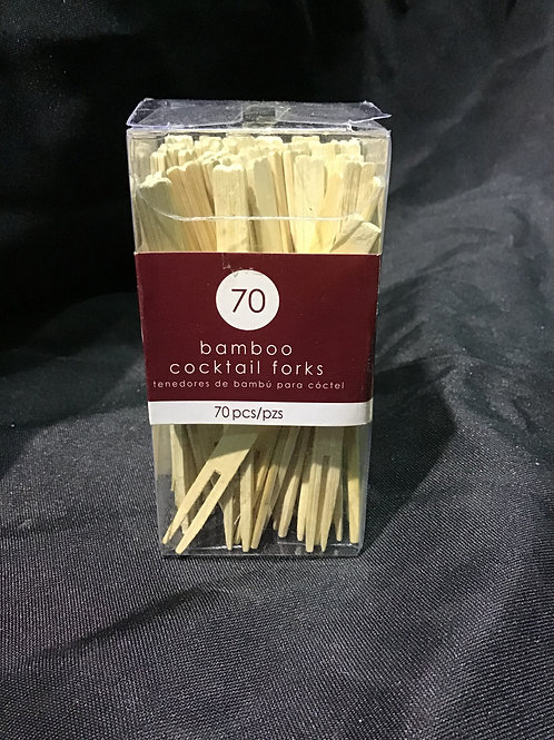 Bamboo fork picks
