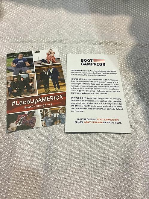 TX Boot Campaign stuff